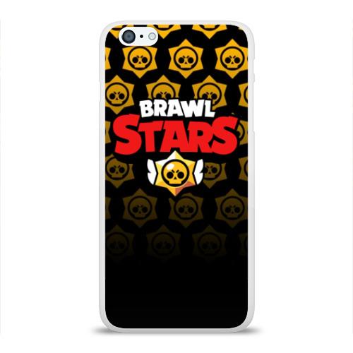 Чехол для iPhone 6/6S Plus глянцевый BRAWL STARS Фото 01