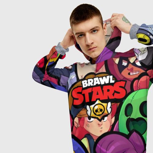 Мужская толстовка 3D BRAWL STARS Фото 01