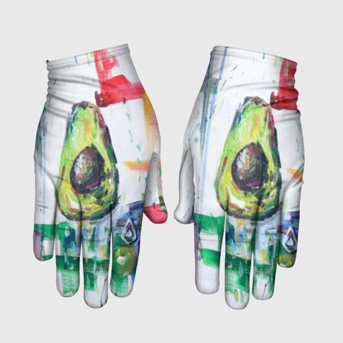Перчатки 3D Авокадо авангард S фото