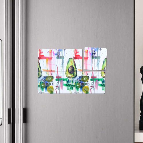 Магнитный плакат 3Х2 Авокадо авангард Фото 01