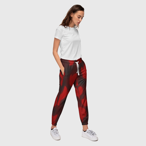 Женские брюки 3D Сияние Сердец Фото 01