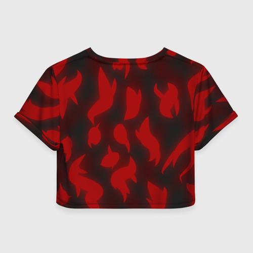 Женская футболка Cropp-top Сияние Сердец Фото 01