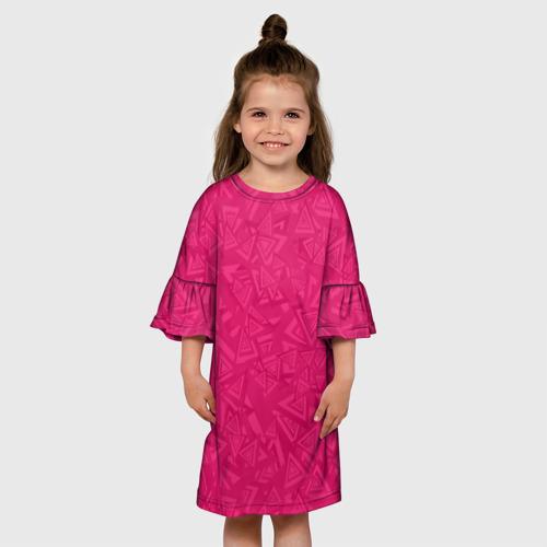 Детское платье 3D  Фото 01, Абстракция.