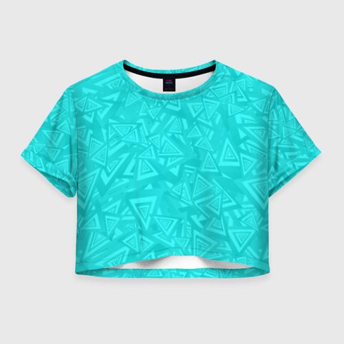Женская футболка Cropp-top Абстракция. Фото 01