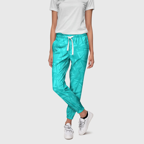 Женские брюки 3D Абстракция. Фото 01