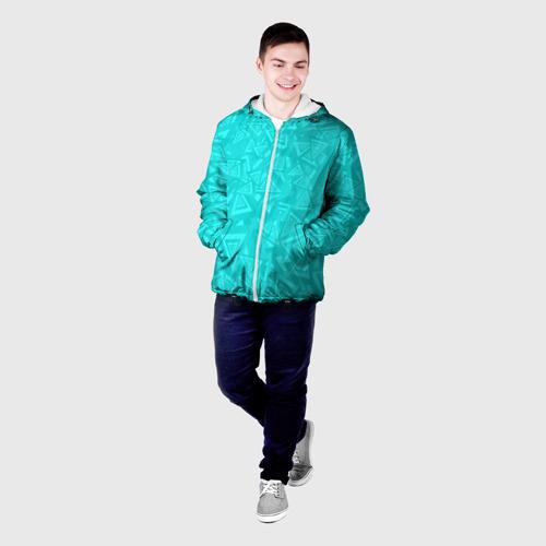 Мужская куртка 3D Абстракция. Фото 01