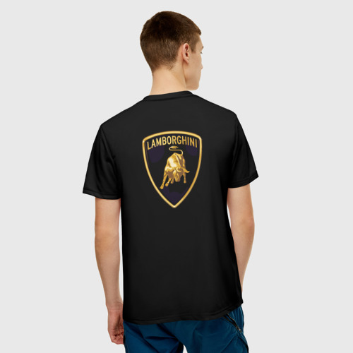 Мужская футболка 3D Lambo Фото 01