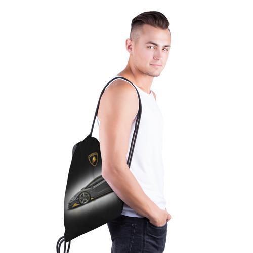 Рюкзак-мешок 3D Lambo Фото 01