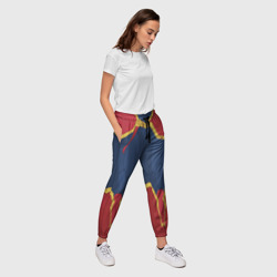 Capitan Marvel legs costume