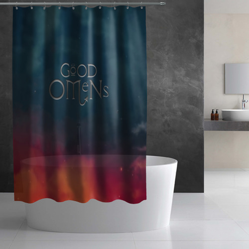 Штора 3D для ванной Сериал Благие намерения Фото 01