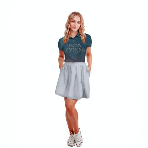 Женская рубашка поло 3D Сериал Благие намерения Фото 01