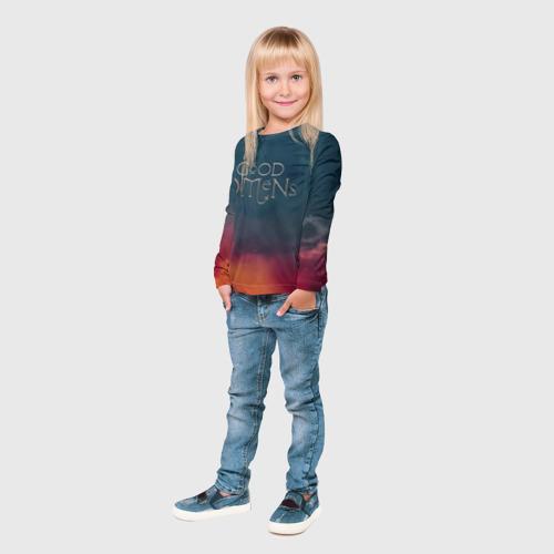 Детский лонгслив 3D Сериал Благие намерения Фото 01