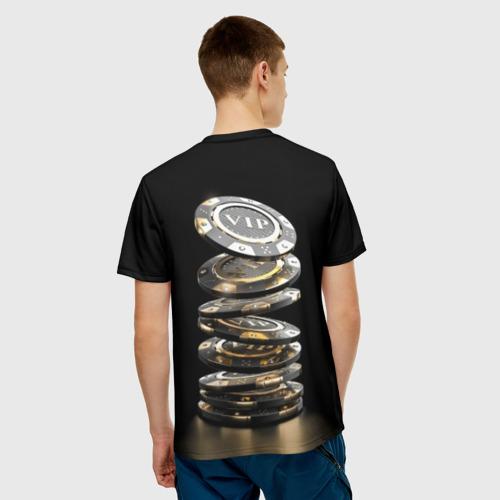 Мужская футболка 3D  Фото 02, VIP фишки