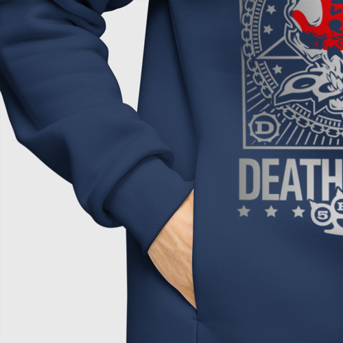 Мужское худи Oversize хлопок Five Finger Death Punch Фото 01