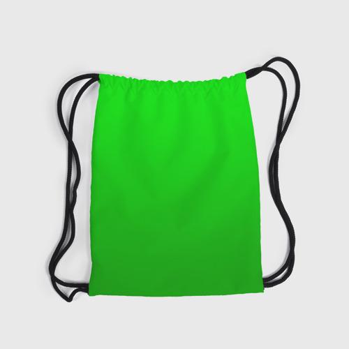 Рюкзак-мешок 3D BRAWL STARS LEON (НА СПИНЕ) Фото 01