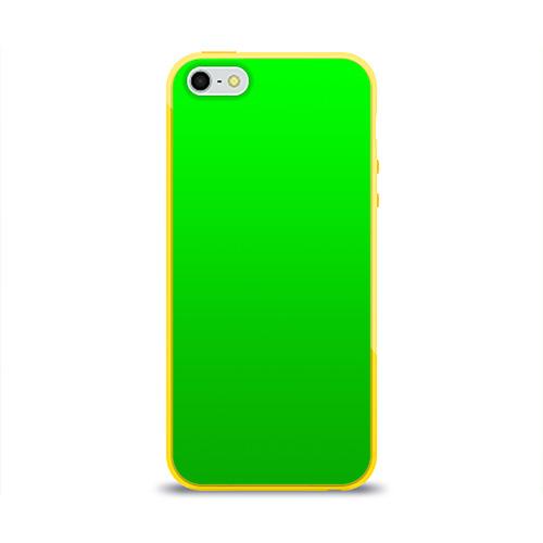Чехол для iPhone 5/5S глянцевый BRAWL STARS LEON Фото 01