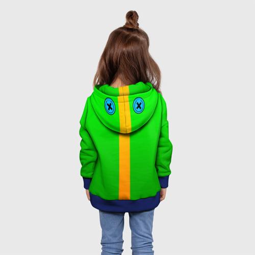 Детская толстовка 3D BRAWL STARS LEON (КАПЮШОН) | ЛЕОН Фото 01