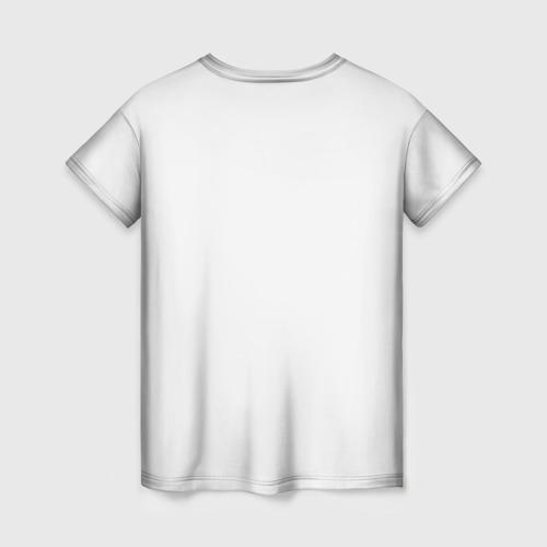 Женская футболка 3D Оставайся сильным за  1025 рублей в интернет магазине Принт виды с разных сторон