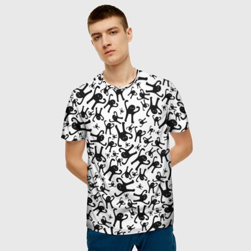 Мужская футболка 3D ЪУЪ СЪУКА Фото 01