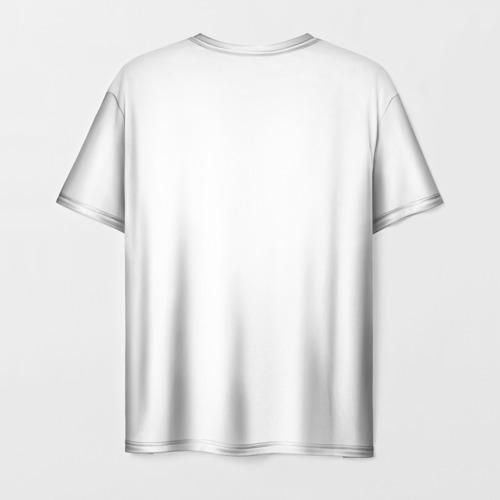 Мужская футболка 3D Пристегнутый ремень Фото 01