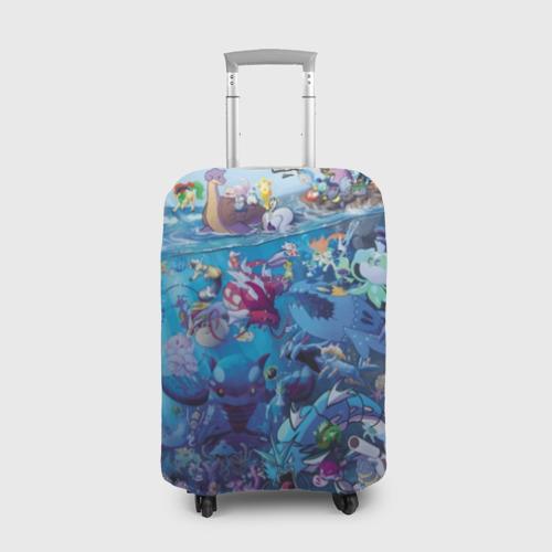 Чехол для чемодана 3D Water-Type Pokemon Фото 01