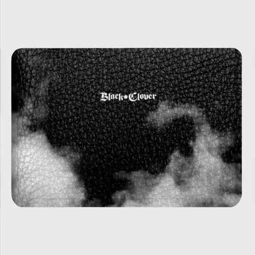 Картхолдер с принтом Логотип Черного Клевера в дымке Фото 01