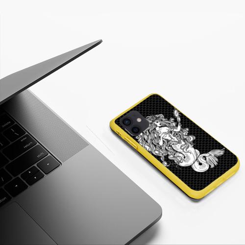 Чехол для iPhone 12 Pro Mini Русалка с зеркалом Фото 01