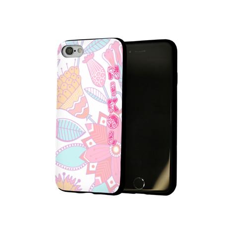 Чехол для Apple iPhone 8 силиконовый глянцевый Nikol Flowers Фото 01