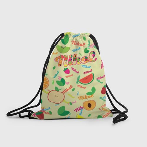 Рюкзак-мешок 3D Nikol Fruits boom! Фото 01