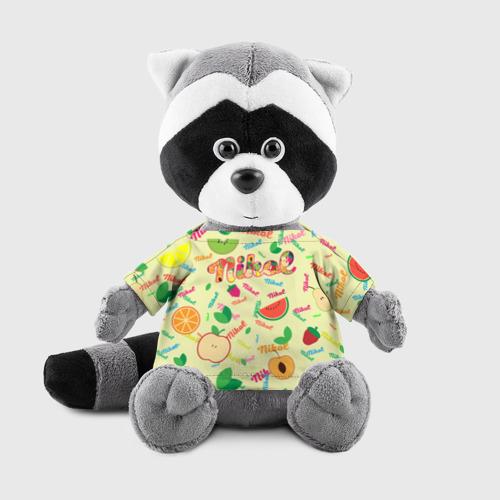 Енотик в футболке 3D Nikol Fruits boom! Фото 01