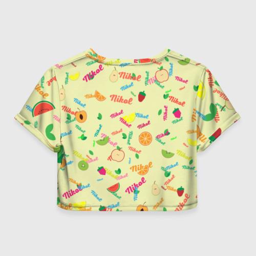 Женская футболка Cropp-top Nikol Fruits boom! Фото 01