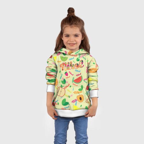 Детская толстовка 3D Nikol Fruits boom! Фото 01