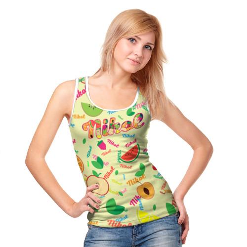 Женская майка 3D Nikol Fruits boom! Фото 01
