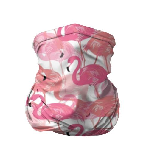 Бандана-труба 3D Фламинго Фото 01
