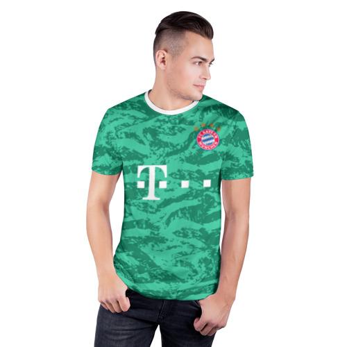 Мужская футболка 3D спортивная  Фото 03, Neuer gk 19-20