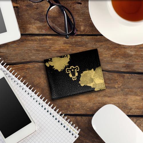 Обложка для студенческого билета Чёрный клевер Фото 01
