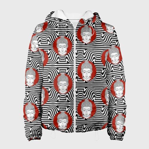 Женская куртка 3D Будда Фото 01