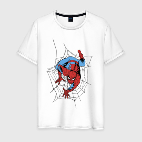 Мужская футболка хлопок Spider-man comics