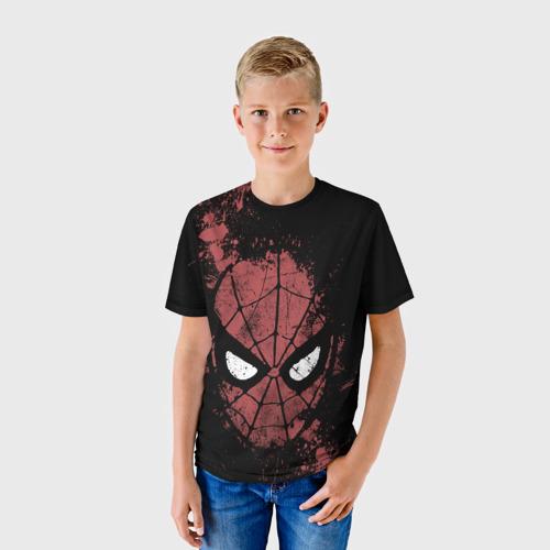 Детская футболка 3D Spider-man splashes