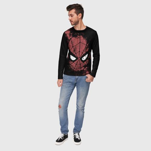 Мужской лонгслив 3D Spider-man splashes Фото 01