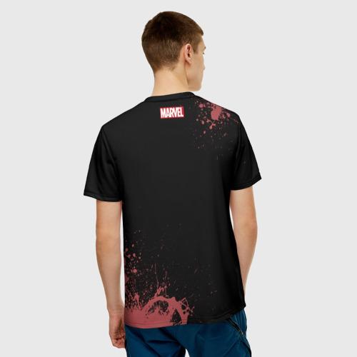 Мужская футболка 3D Spider-man splashes Фото 01