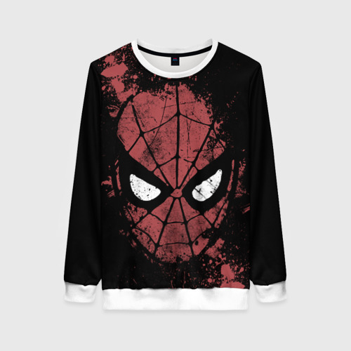 Женский свитшот 3D Spider-man splashes