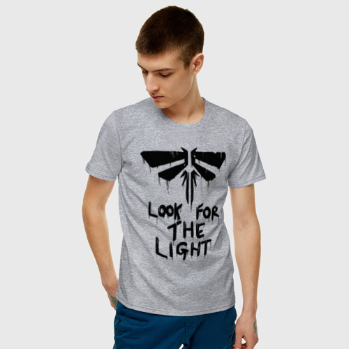 Мужская футболка хлопок  THE LAST OF US Фото 01