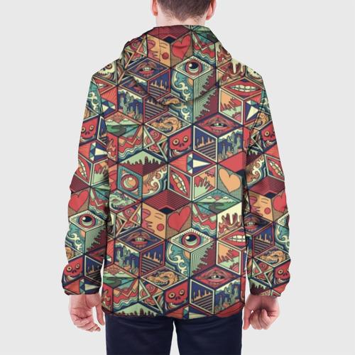 Мужская куртка 3D Психоделика Фото 01