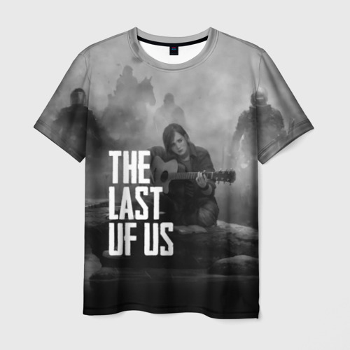 Мужская футболка 3D  Фото 01, THE LAST OF US
