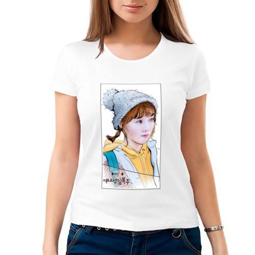 Женская футболка хлопок  Фото 03, Фея тяжелой атлетики