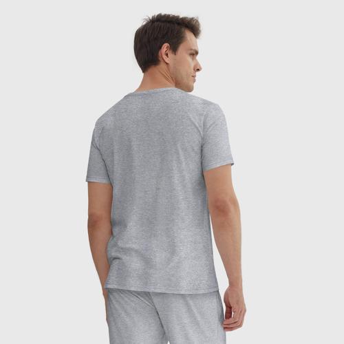 Мужская пижама хлопок Фея тяжелой атлетики Фото 01