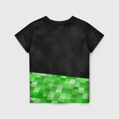 Детская футболка 3D Minecraft EARTH - Котик Фото 01