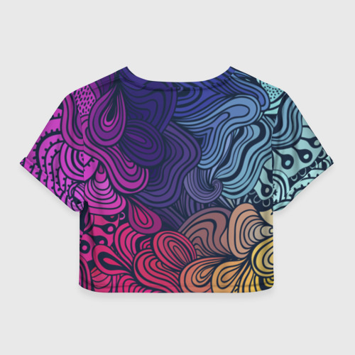 Женская футболка Cropp-top Nikol Absract Фото 01
