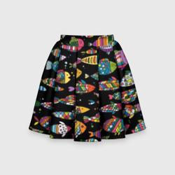 Разноцветные рыбы